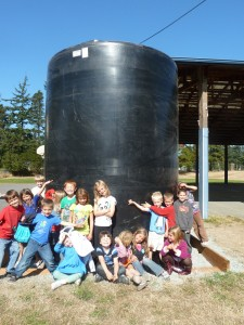 We love our new rainwater catchment tank!