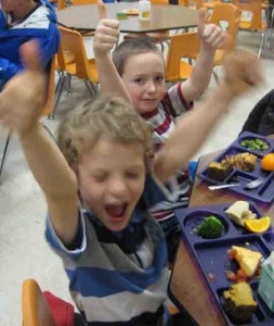 Sometimes there are no words to express our enthusiasm for Farm to Cafeteria!