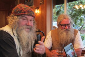 Jimi (l) and Johnny (r) Mudd recently celebrated their 60th birthday.