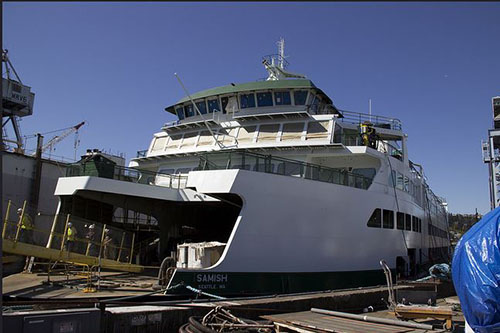 today washington ferries under construction