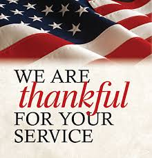 veterans thankful