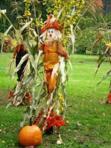 Enchanted Forest Road Harvest Scarecrow