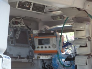May this be the only view you ever have of the patient care area of an Airlift Northwest helicopter. Photo: Cara Russell