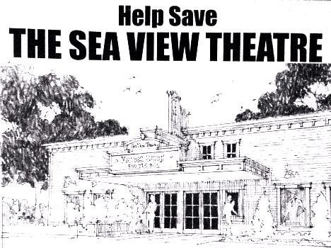 Save the Sea View Theatre first phase successful!