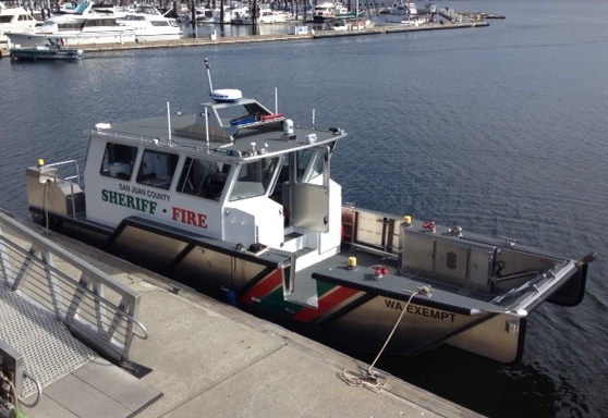 Sheriff Takes Delivery of New Public Safety Boat - Orcas ...