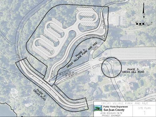 County Gears Up for Orcas Landing Park and Ride Project